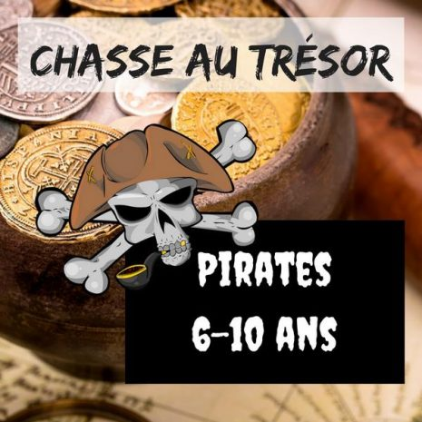 chasse au tresor pirates explorador