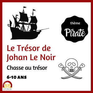 pirate chasse au tresor explorador