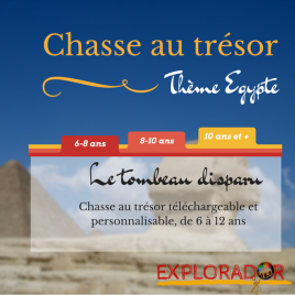 chasse au tresor telechargeable egypte 6 12 ans