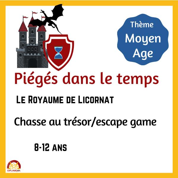 escape game moyen age
