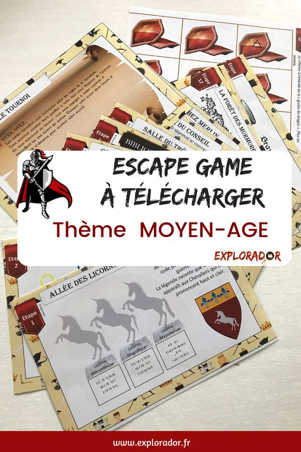 escape game telecharger chevalier