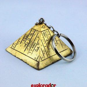 porte cle pyrmide egypte explorador
