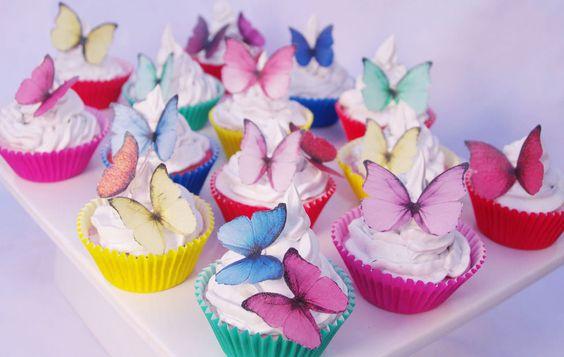 papillon cupcakes