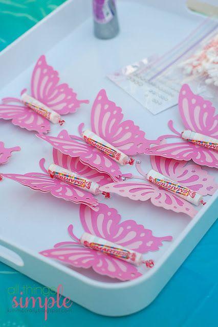 papillons fee bonbon