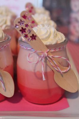 pot creme rose fee karaspartyideas
