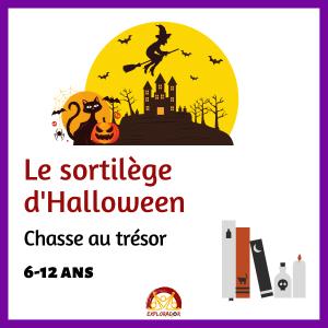 chasse au tresor halloween explorador