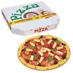 pizza bonbon anniversaire foot