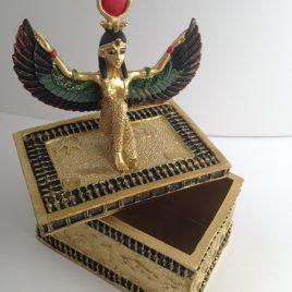 coffre tresor egypte deesse