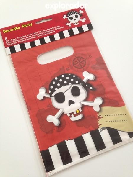 sac cadeau pirate
