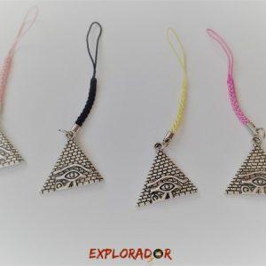 accroche zip cadeau anniversaire egypte pyramide