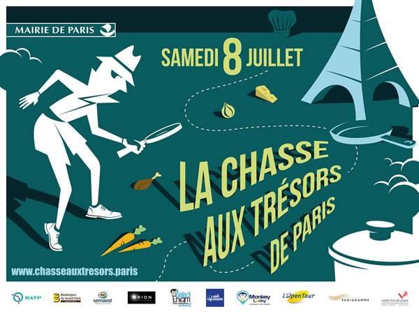 Explorador a concocté 7 des 35 parcours de la grande Chasse au trésor de Paris