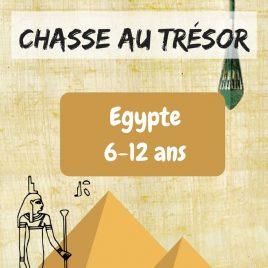 chasse au tresor enfant egypte