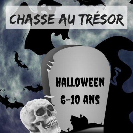 Très Chasse au trésor Halloween KM16