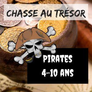 chasse au tresor enfant pirate
