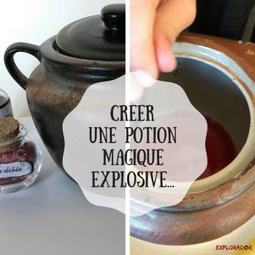 Faire une potion magique de sorcière (non comestible)