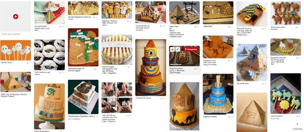gateaux anniversaire egypte