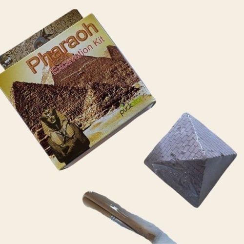 pyramide fouille cadeau egypte