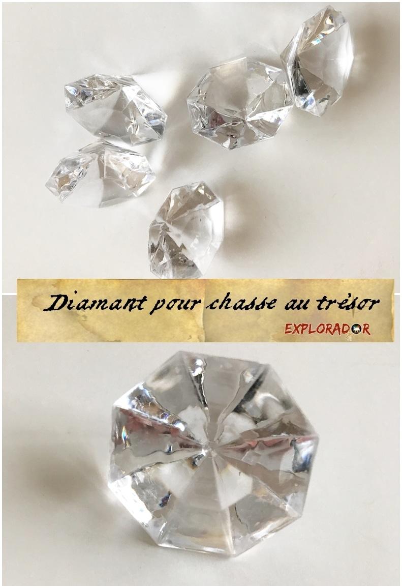 diamant pour chasse au tresor explorador #chasseautresor #tresor