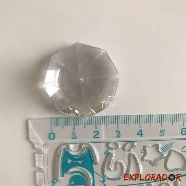 taille diamant resine