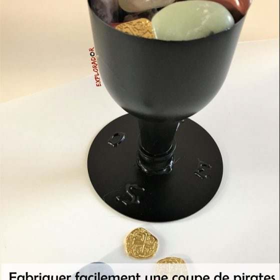 bricolage de pirate coupe