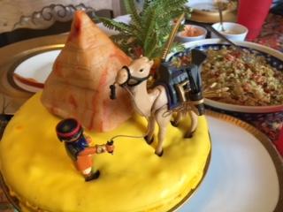 gateau anniversaire egypte