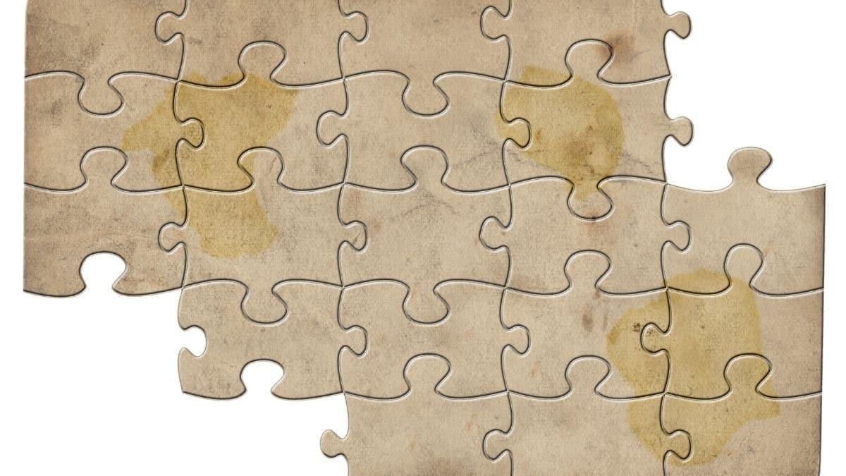 puzzle indice parchemin chasse au tresor