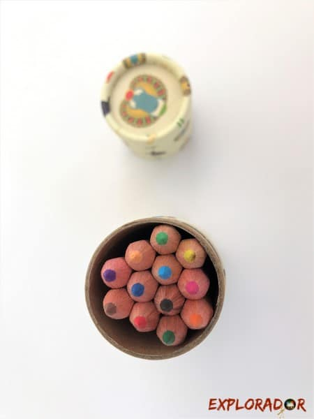 boite crayons egypte cadeau