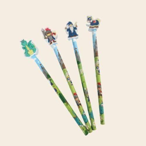 crayon anniversaire chevalier petit cadeau
