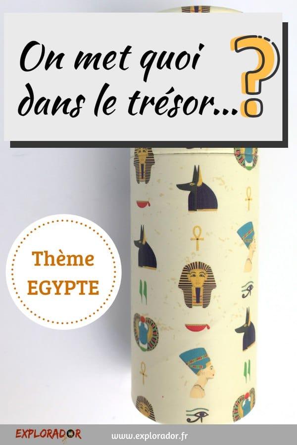tresor fete egypte crayons