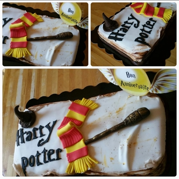 gateau harry potter parent