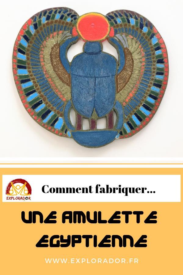 comment fabriquer amulette egyptienne