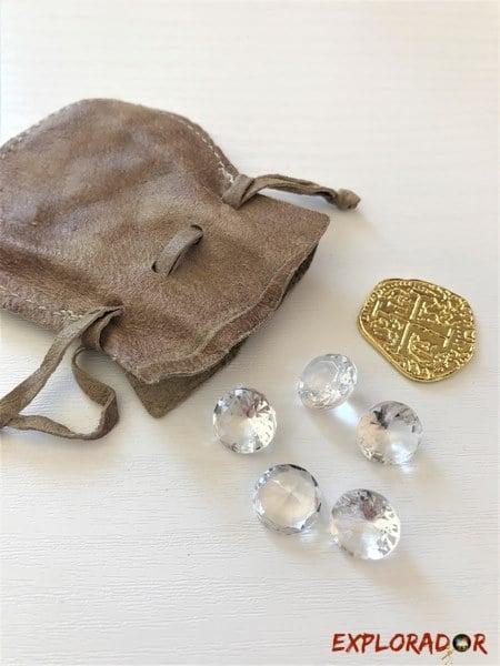 diamants mettre dans tresor anniversaire