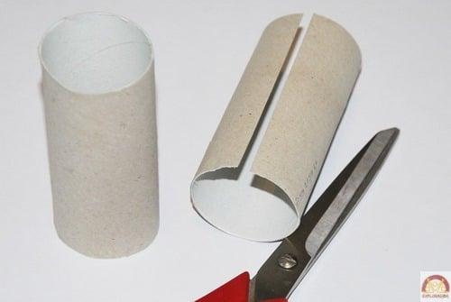 decoupage bracelets rouleau papier toilette