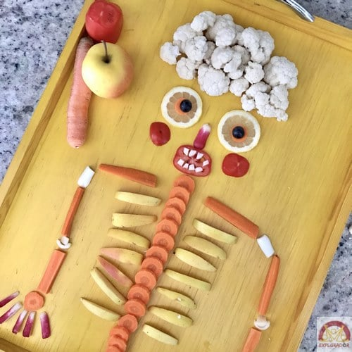 halloween repas original legumes