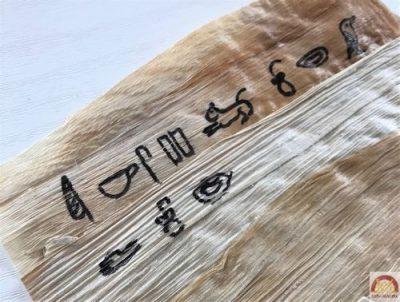 fabriquer papyrus maison