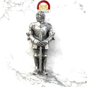 magnet chevalier armure epee