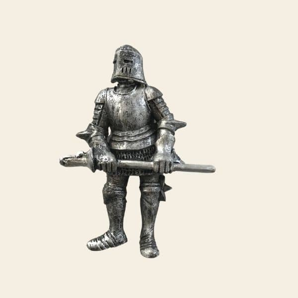 magnet chevalier metal epee