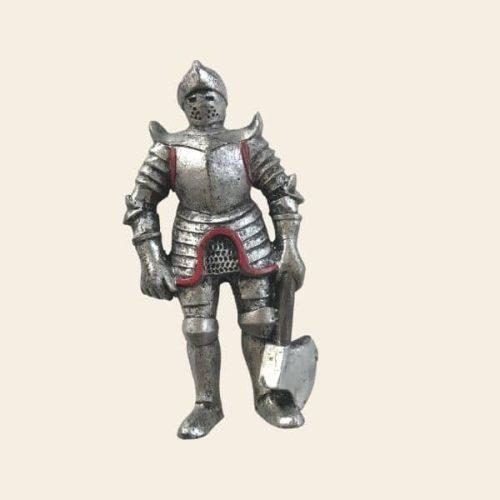 magnet chevalier metal hache