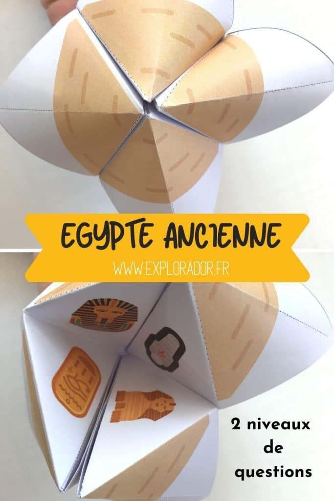 activite egypte cocotte explorador
