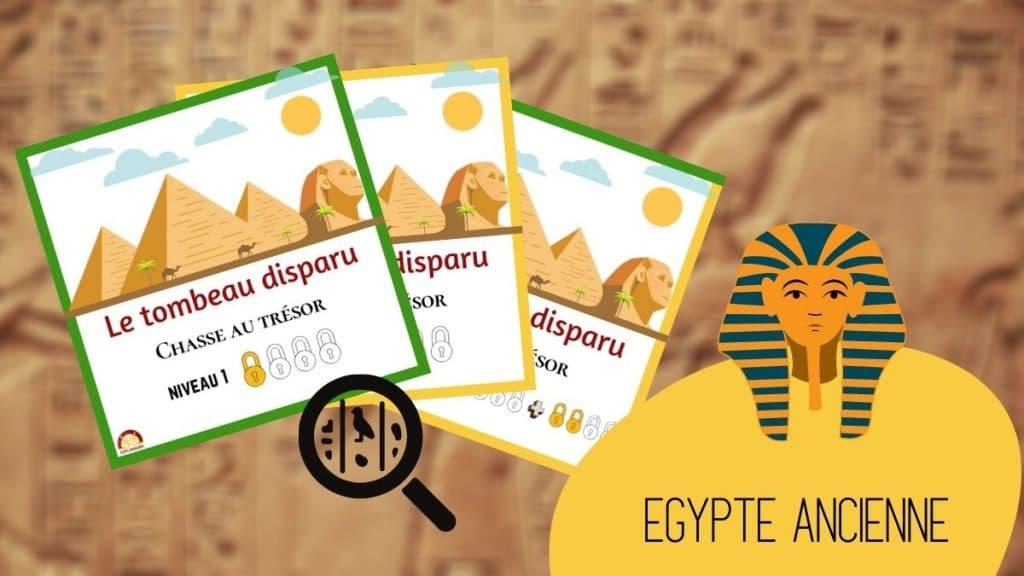 chasse au tresor egypte anniversaire enfants explorador