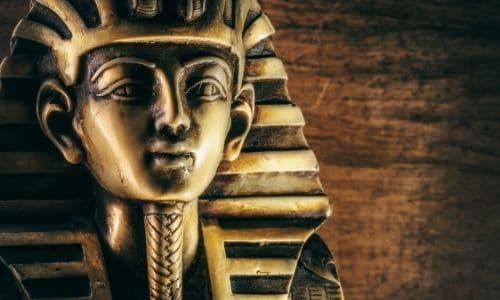 sarcophage pharaon egypte antique