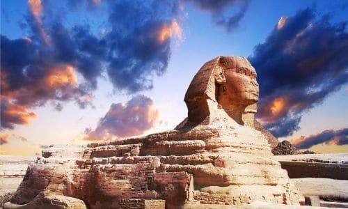 statue sphinx chasse au tresor