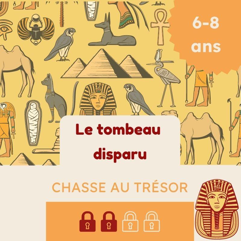 chasse au tresor egypte 7 ans