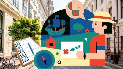 organiser jeu piste en ville guide gratuit explorador