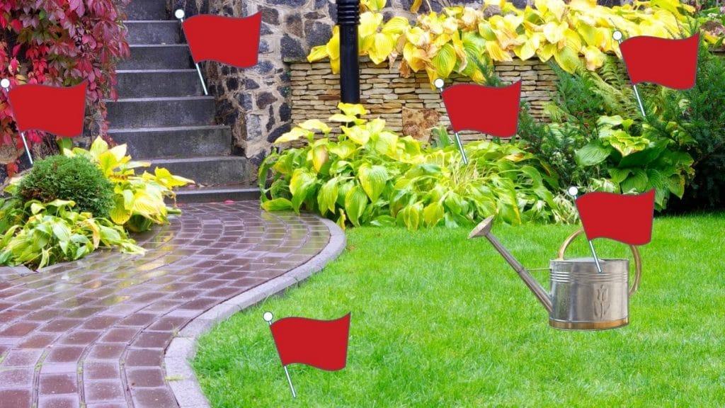 idée cachette jardin maison